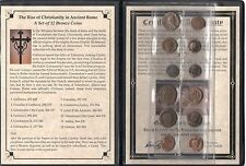 12 Ancient Roman Coin Collection. Certified Authentic Biblical Coins