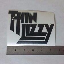THIN LIZZY Vinyl DECAL STICKER BLK/WHT/RED Heavy Metal BAND Logo Window Guitar