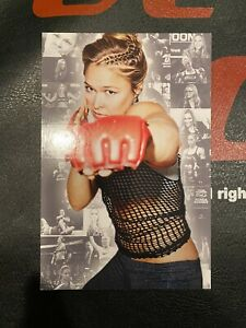 Ronda Rousey Armbar Nation Postcard MMA UFC WWE