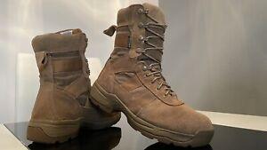 PROPPER Retro US ARMY HYDRO GUARD BROWN Leder Schuhe BOOTS Classic BEIGE Gr. 41