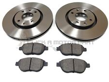 PEUGEOT 207 1.6 2.0 CC HDi GT 2007-2012 FRONT 2 BRAKE DISCS AND PADS SET NEW