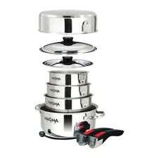 Magma Nestable 10 Piece S.s. Cookware Set A10-360L