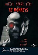 12 MONKEYS Bruce Willis DVD R4 - NEW