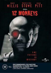 12 Monkeys : Brad Pitt : NEW DVD