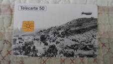 Télécarte France 50ème anniversaire des débarquements 1944 - 50u - Phone card