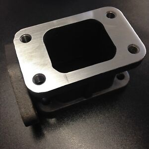T3 T34 Turbo 35mm 38mm External Wastegate Adapter Outlet Cast Manifold Flange