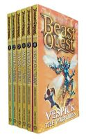 Beast Quest Series 6 World of Chaos 6 Books Adam Blade Boys Adventure Fun New