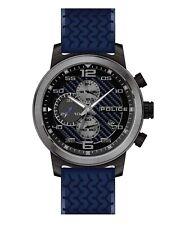 POLICE Bromo Blue Chronograph Dial Blue Silicone Strap Watch PL.15657JSBU/03P