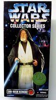 """Star Wars 12 Inch Obi-Wan Kenobi Exclusive Deluxe Action Figure New 1996 12"""""""