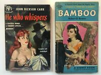 Lot 3  PULP FICTION LURID Pocket Paperback Multiple VINTAGE TRASHY ELLERY QUEEN