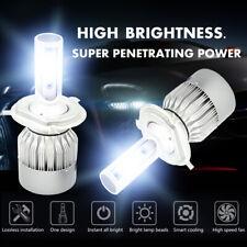 CREE H4 LED Headlight Light Bulbs Hi/Lo Beam 6000K 9003 HB2 1810W 271500LM Pair
