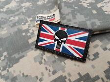 SNAKE PATCH - DRAPEAU ANGLAIS PUNISHER - uk union jack MTP DPM british scratch