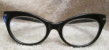 RARE PERSOL RATTI LADIES CAT EYE PERSCRIPTION GLASSES 1950-1960 USED