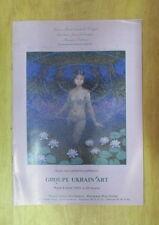 CATALOGUE DE VENTE GROUPE UKRAIN ART PEINTRES UKRAINE BORDEAUX RIVE DROITE 1993