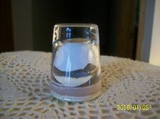 "VINTAGE 1950s ""PAINTED DESERT SANDS Handmade by an American Indian"" Shot Glass"