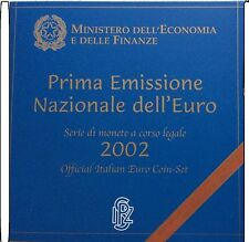 +EURO BU  PROOF ITALY 2002++RARE  NU VERLAAGDE SPOTPRIJS !