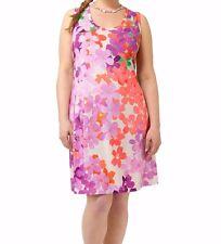 Jete Painted Garden Tank Dress Size XL