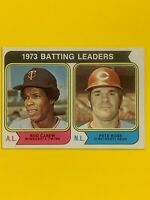Pete Rose/Rod Carew-1974 Topps (1973 Batting Leaders)