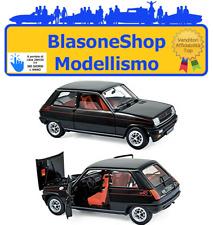 Renault R5 Alpine 1976 Nero Black NOREV 1:18 NV185114 Diecast