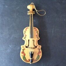 The San Francisco Music Box Company Violin Ornament The First Noel