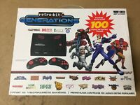 Retro-Bit Generations - Plug and Play Game Console w/100x Built-In Games