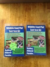2 Wildlife Food Plot Soil Test Kit, HeartlandIllinois