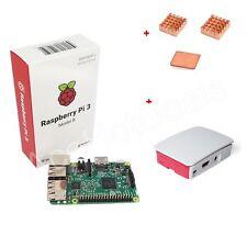 Raspberry Pi 3 Modelo B Kit Oficial Funda Disipador Térmico