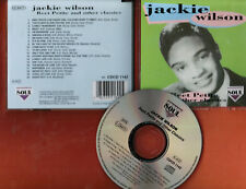 """""""Reet Petite & Other Classics"""" by Jackie Wilson (soul Cd, import Uk) Soul Label"""