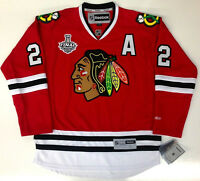 DUNCAN KEITH 2015 CHICAGO BLACKHAWKS STANLEY CUP REEBOK PREMIER JERSEY