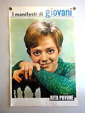 I MANIFESTI DI GIOVANI - Poster Vintage - RITA PAVONE - 73x50 Cm [67]