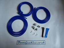 Universal Silicone Vacuum Hose Dress Up  kit- Blue-Skyline/Evo/Ford/RS/ST