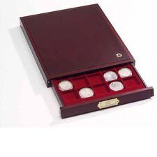 Leuchtturm.elegante box in mogano per sterlina oro