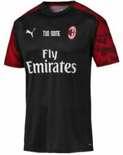 Terza maglia da calcio di squadre italiane neri AC Milan ...