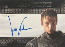 Will Tudor Valyrian Steel Autograph, Game of Thrones Complete Series