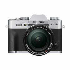 Fujifilm X-t20 Silver XF 18-55 Ois Cashback
