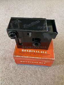 Agfa Rondinax 35U daylight film developing tank 35mm Vintage Boxed