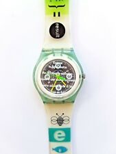 RARE New in Box SWATCH Solar Power The Originals SRG101 Recharge Swiss Watch '96