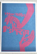 More details for thom yorke suspiria promo postcard stanley donwood signed autographed
