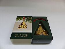 Georg Jensen Weihnachtsschmuck/Ornament am Band 2007 GOLD Weihnachtsbaum 3411207