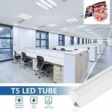 2x T8 60cm 2ft LED Tube Milky White 6500K Fluorescent Replacement Light Bulbs