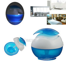 Humidifier Desktop USB Air Diffuser Purifier Atomizer LED Night Light 360Degrees