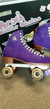 Upgraded Moxi Lolly Roller Skates Size 8  premium Neo Reactor Plate Trick Wheels