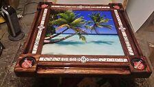 Playa de Cuba Havana Club Domino Table by Domino Tables by Art
