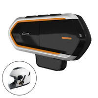 Motorbike Motorcycle Helmet BT Wireless Intercom Headphone Interphone Handsfree
