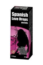 Spanish Love Drops Secrets AFRODISIACO EROTICO STIMOLANTE integratore liquido 30ml