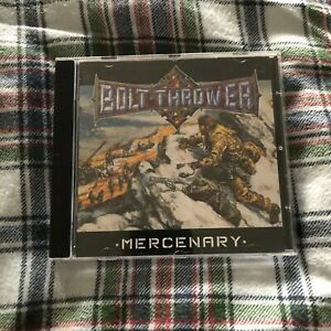 Bolt Thrower - Mercenary CD NEW (UNSEALED) Benediction Napalm Death