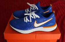 Nike Epic React Flyknit 2: Men's Size 11.5 Racer Blue/White/Orange NIB