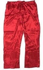 Shadowline Charmeuse Sleep Pants -4500 Red 1X-Large