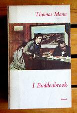 Thomas Mann I BUDDENBROOK Einaudi Super Coralli I edizione 1952