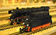 Mein Unikat, die Dampflok. BR003 160-9 DB, mit Wechsellich an Lok und Tender.